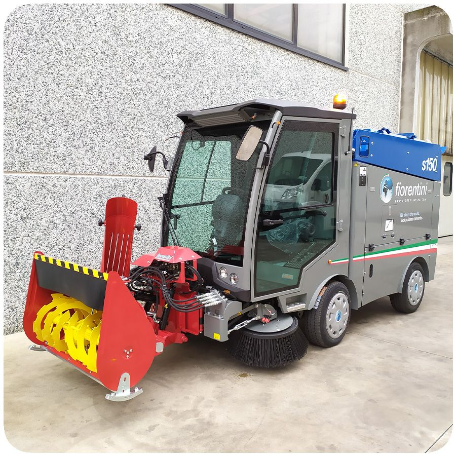 Masina de maturat urbana profesionala S150 Fiorentin EUC10