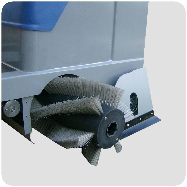 masina de maturat cu om la bord mini sweeper fiorentini euc3