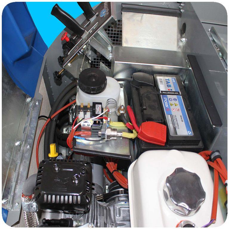 masina de maturat profesionala cu om la bord S28 Fiorentini EUC3
